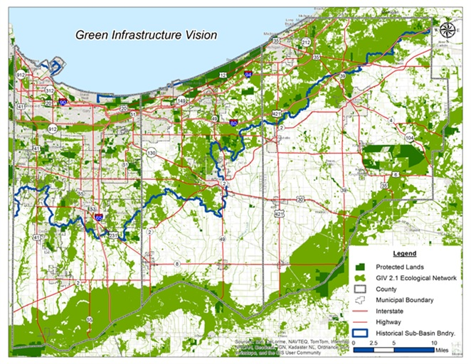 The Chicago Wilderness Green Infrastructure Vision for NW Indiana