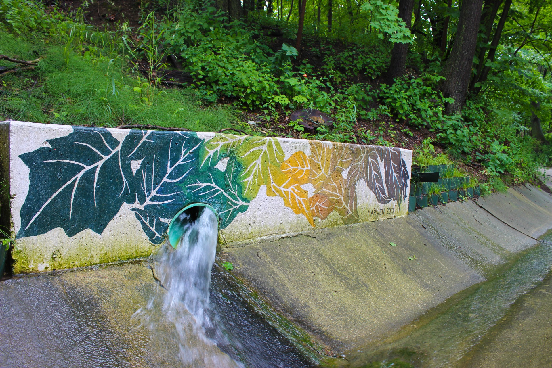 Bartlet Mural Stormwater